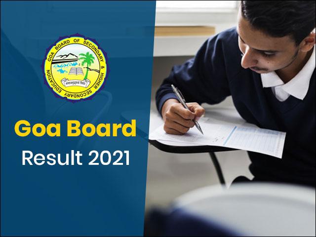 Goa Board Result 2021