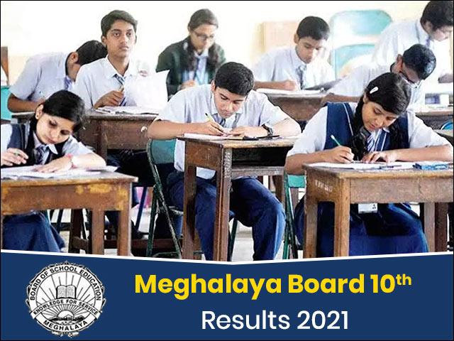 Meghalaya Board 10th Result 2021