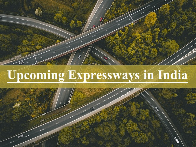 List of upcoming expressways in India