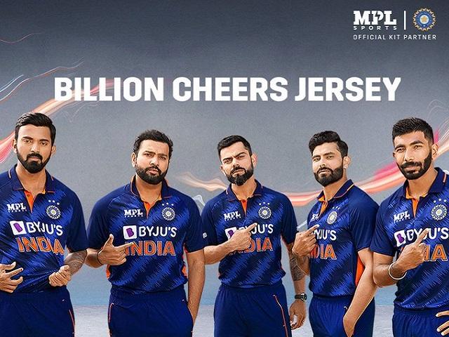 BCCI unveils Team India's new Billion Cheers Jersey