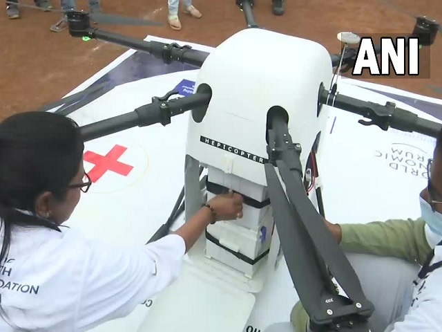 Medicine from Sky Project launched in Telangana