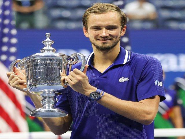 US Open 2021 Final: Daniil Medvedev, Twitter/US Open Tennis