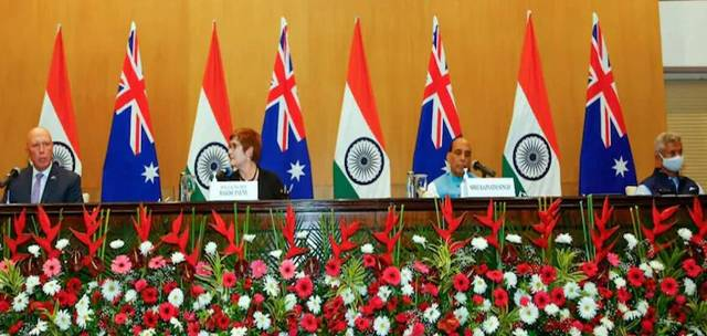 Defence Ministers of India and Australia hold bilateral talks, emphasise on UN resolution in Afghanistan