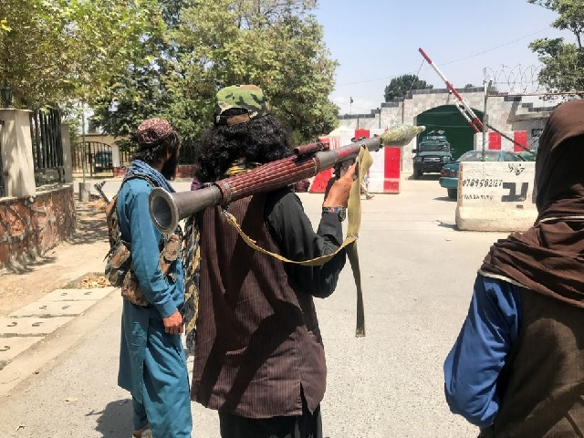 Indian security forces against Taliban