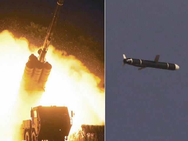 North Korea test-fires long-range cruise missiles despite US sanctions, Source: Korean Central News Agency