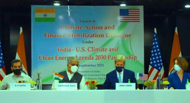 India-US jointly launch Climate Action and Finance Mobilization Dialogue of Agenda 2030 Partnership