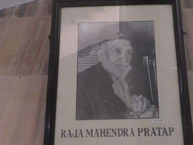 Raja Mahendra Pratap Singh, Source: ANI