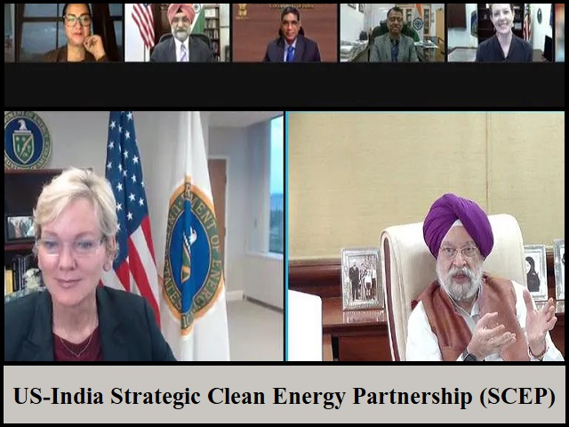 US-India Strategic Clean Energy Partnership (SCEP): All you need to know