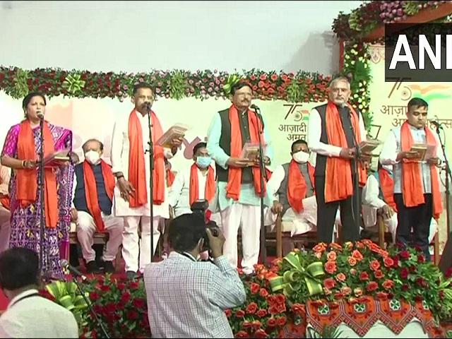 New Gujarat Cabinet Ministers list