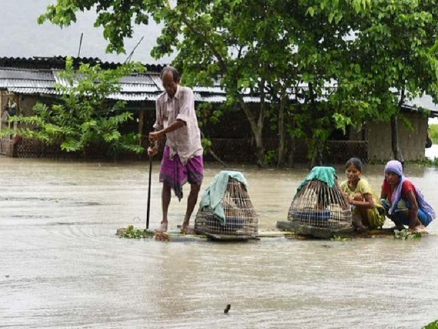 Assam flood situation worsens, nearly 5.74 lakh people affected