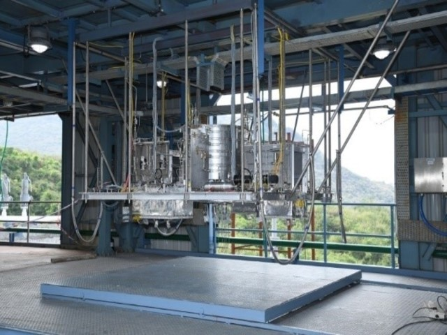 Gaganyaan Service Module Propulsion System Test, Source: ISRO