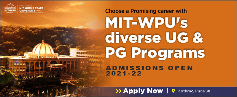 Admissions Open for UG and PG Programs - MIT Pune (MIT-WPU)
