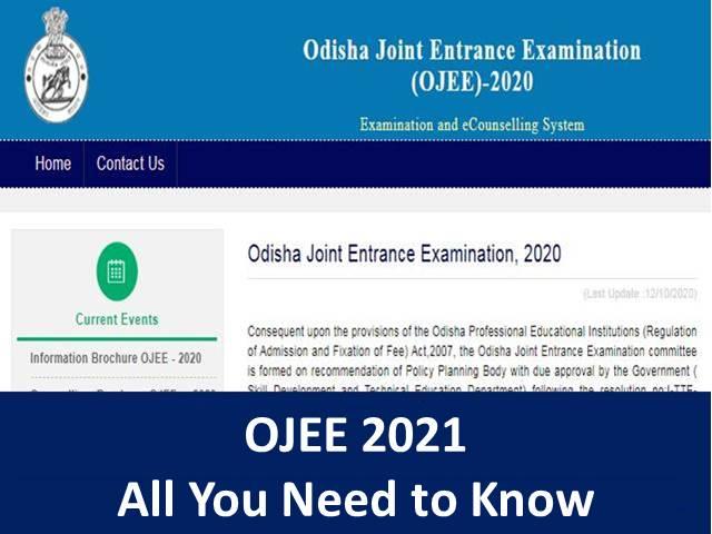OJEE 2021: Application, Registration, Important Dates, Eligibility