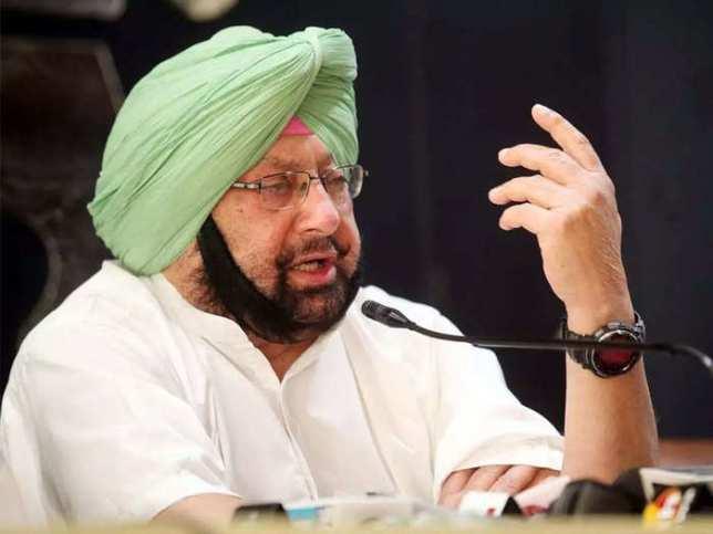 Captain Amarinder Singh resigns as Punjab CM