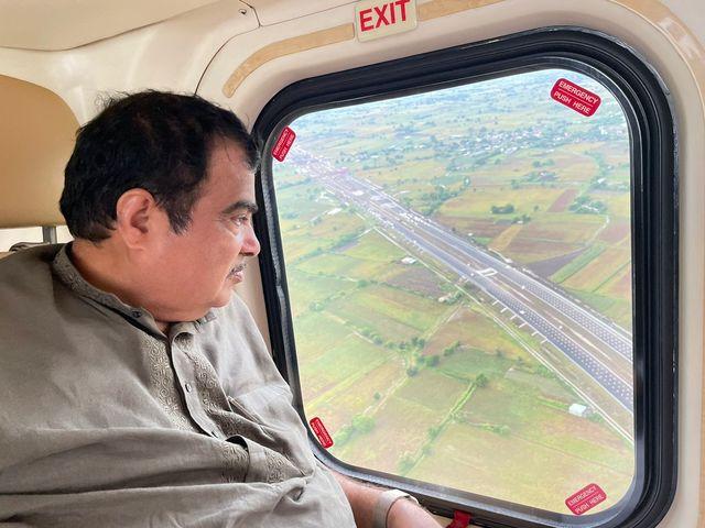 Union Minister Nitin Gadkari, Delhi-Mumbai Expressway, Twitter/Nitin Gadkari