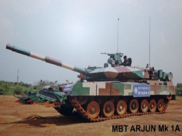Defence Ministry to procure 118 Arjun Mk 1A Main Battle Tanks