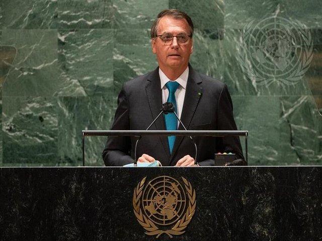 President Jair Bolsonaro, Brazil at 76th UNGA, Twitter/govbrazil