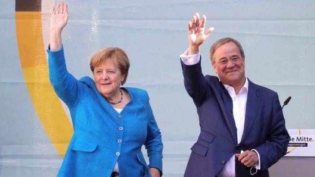 Germany Election Result Social Democrats beat Merkel bloc in German elections