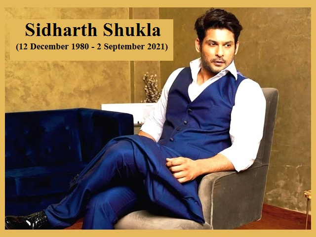 Sidharth Shukla Biography: Death, Age, Career and More