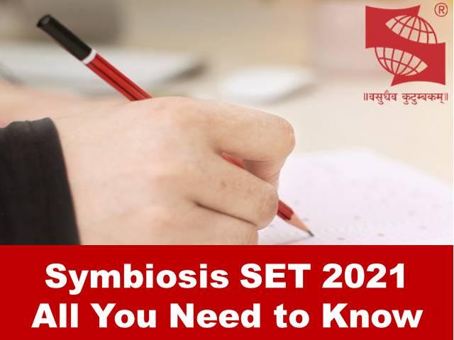 Symbiosis SET 2021: Application, Registration, Important Dates