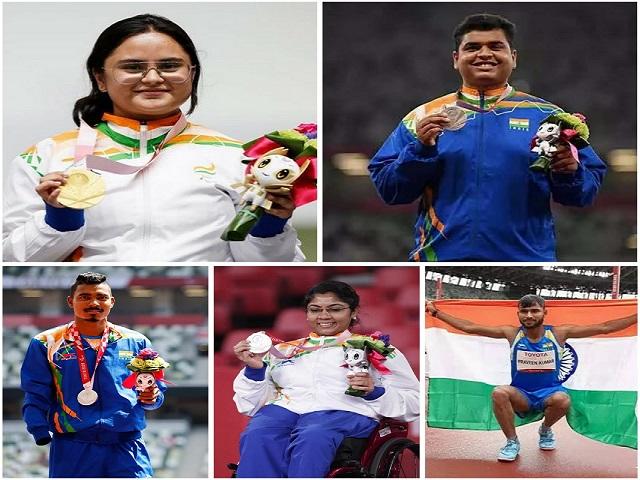 Indian medal tally at Paralympics 2020