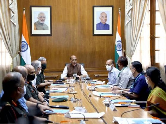 Defence Minister Rajnath Singh approves DFPDS 2021