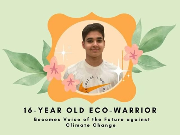 #ItsPossible: 16-year old Eco-Warrior becomes voice of Future against Climate Change with UNEP's Tunza Eco-Generation