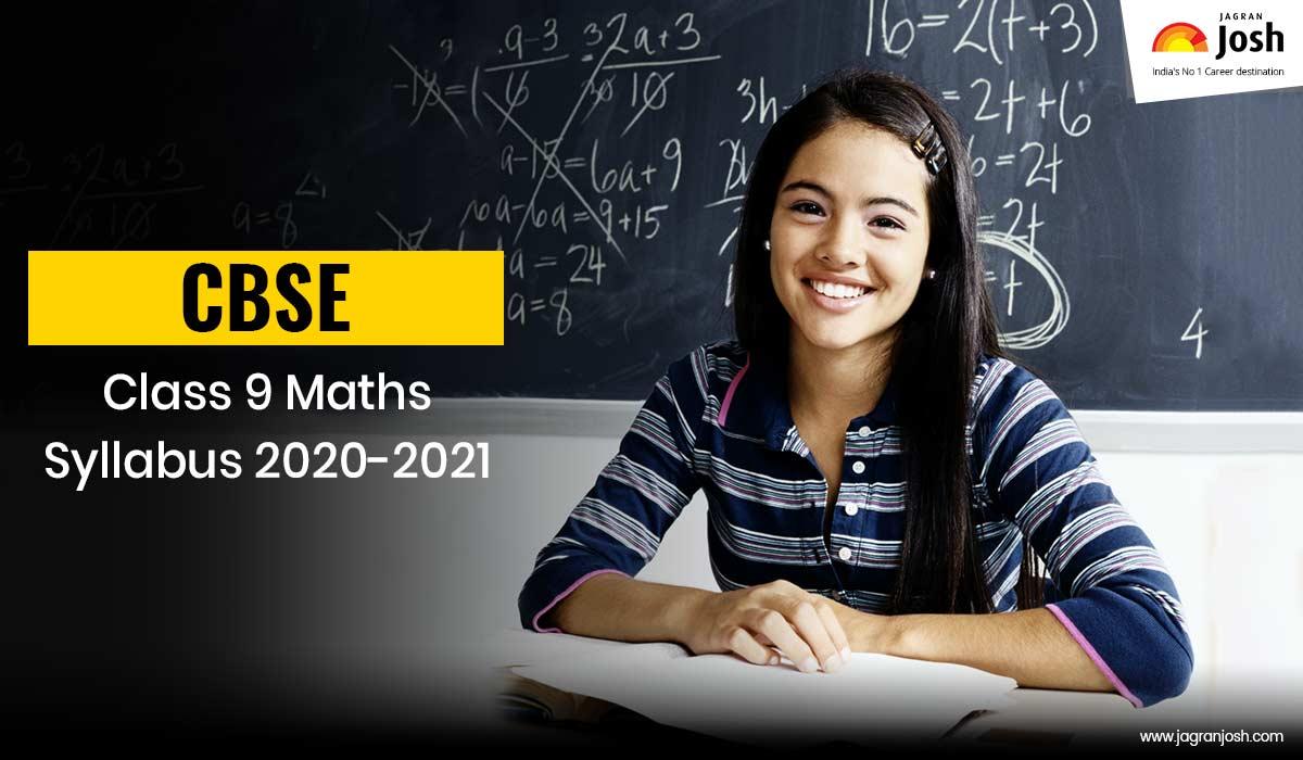 CBSE Class 9 Mathematics Syllabus