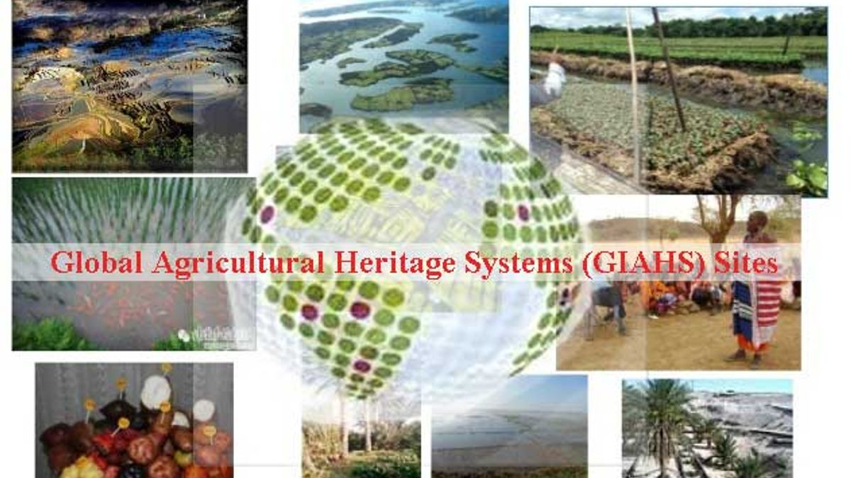 List of Global Agricultural Heritage Systems (GIAHS) Sites in India