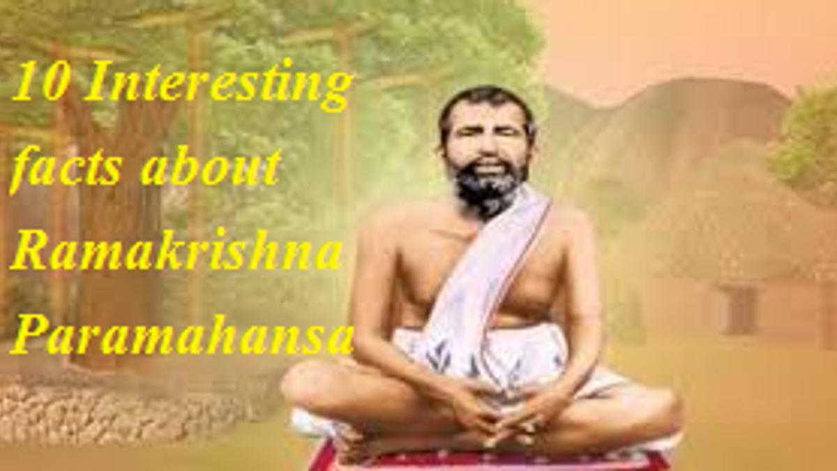 10 Interesting facts about Ramakrishna Paramahansa
