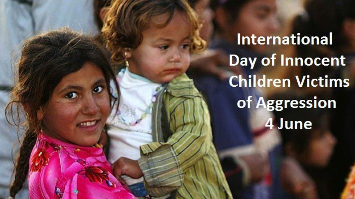 International Day of Innocent Children Victims of Aggression 2019