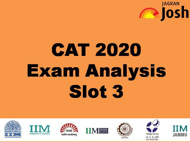 CAT 2020 Exam Analysis – Slot 3 Detailed Exam Analysis, Expected Cut-off, Level of Difficulty