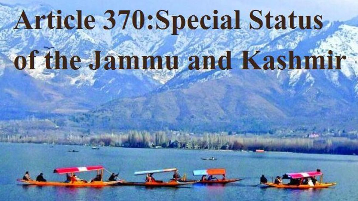 Special Status of the Jammu and Kashmir