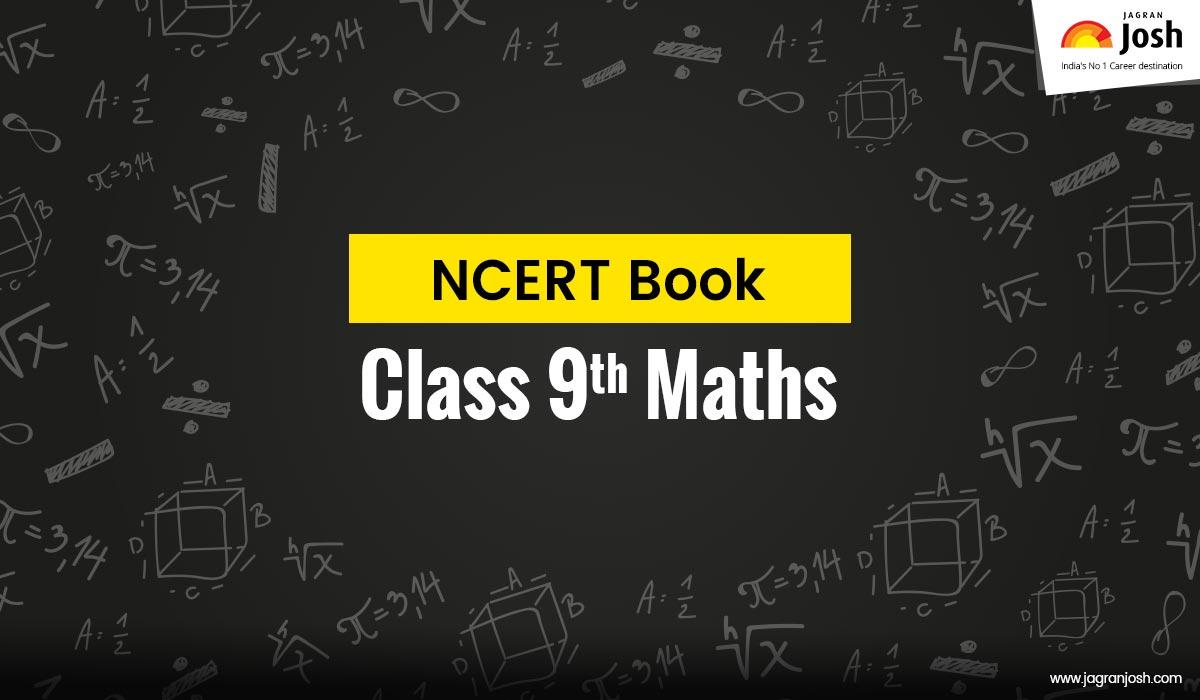 CBSE Class 9 Mathematics NCERT Book