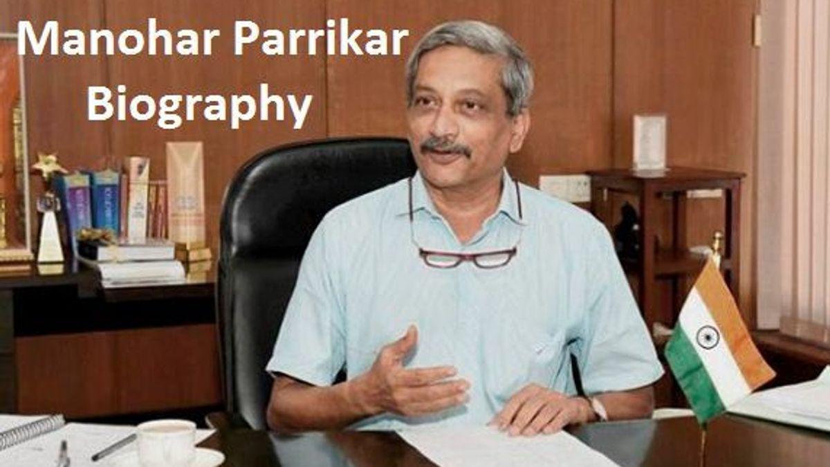 Manohar Parrikar Biography