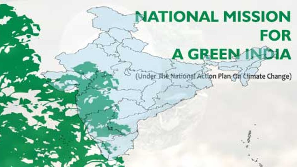Do you know about the National Mission for A Green India