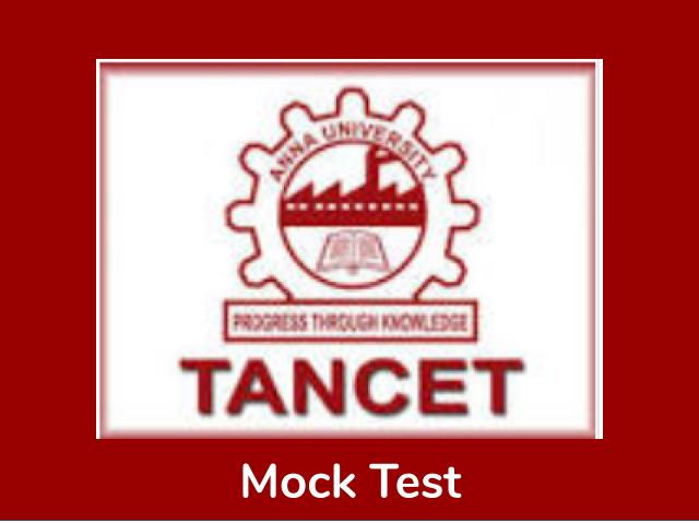 TANCET MBA Mock Test 2020