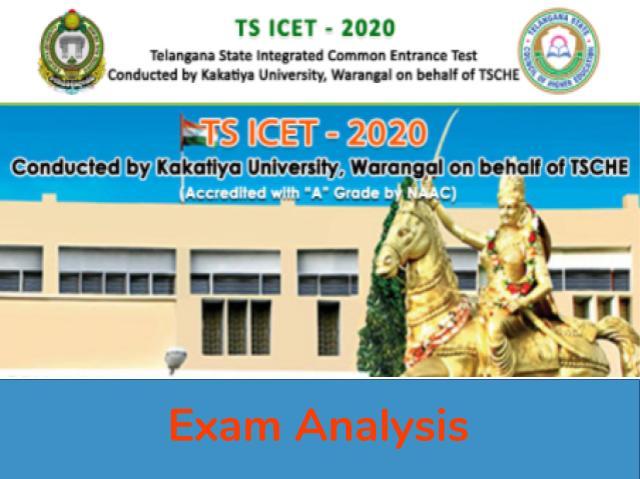 TS ICET Exam Analysis 2020