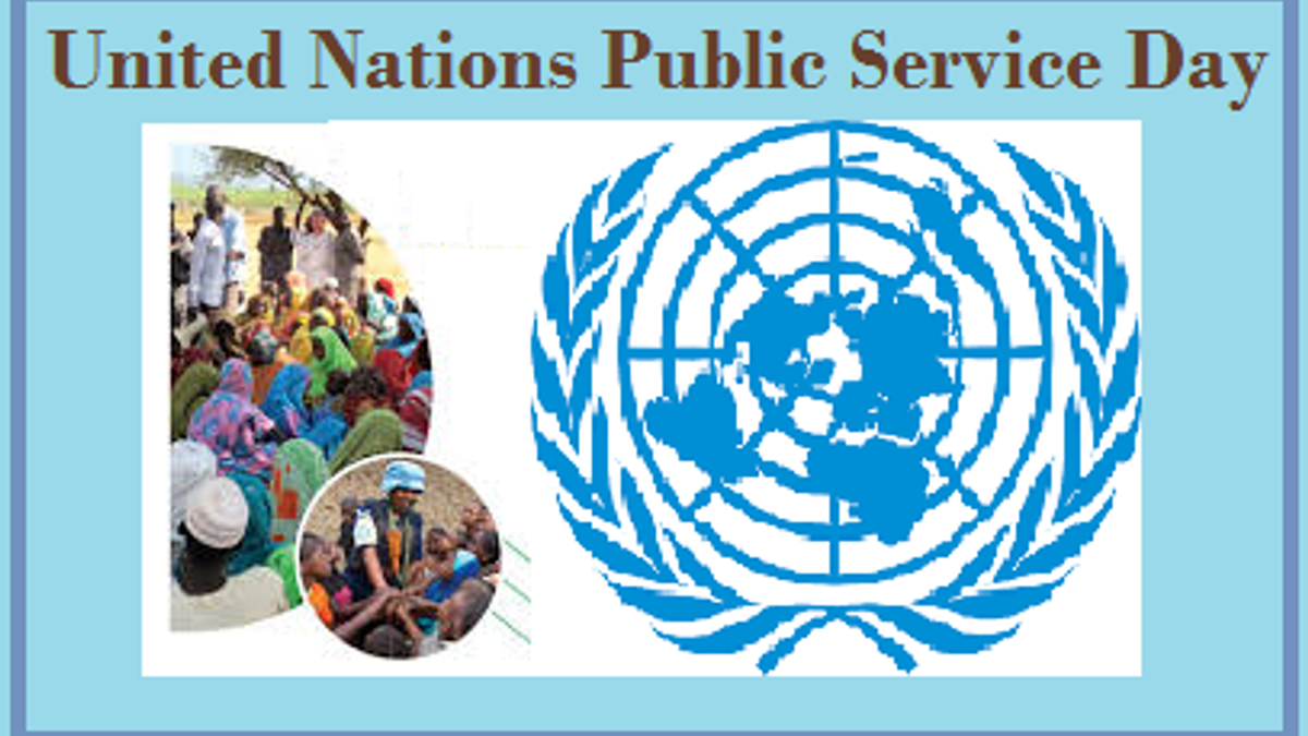 United Nations Public Service Day 2019: Current Theme and History