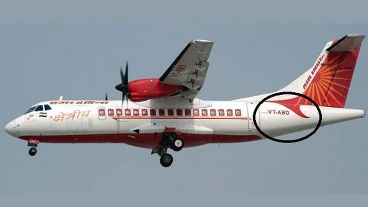 Indian aeroplanes using VT code