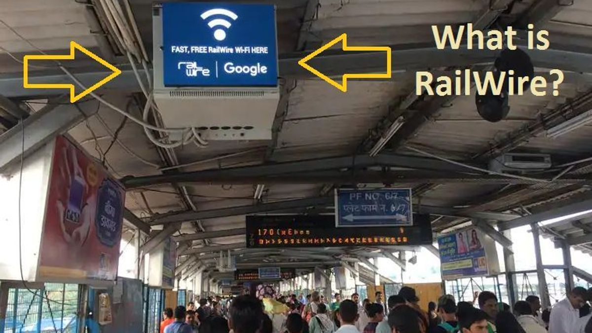 What is RailWire and RailTel?