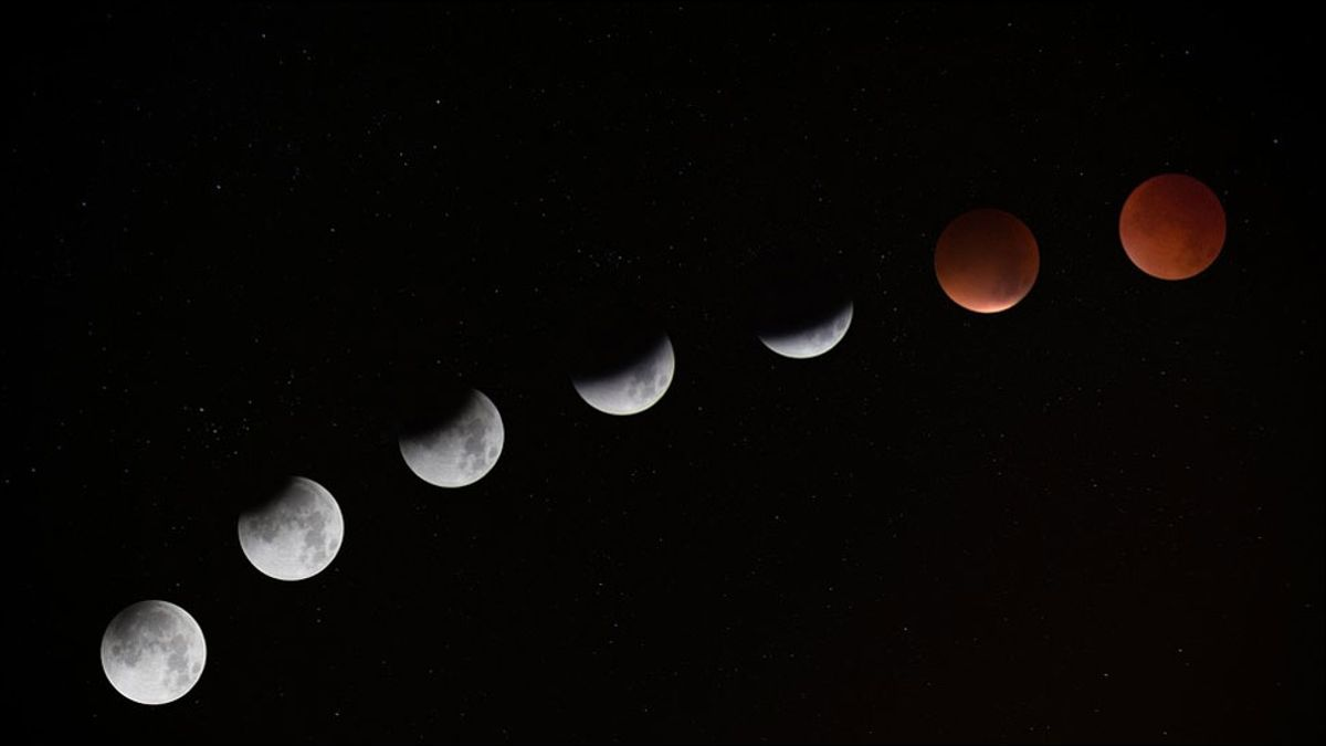 What is Super Blood Moon?