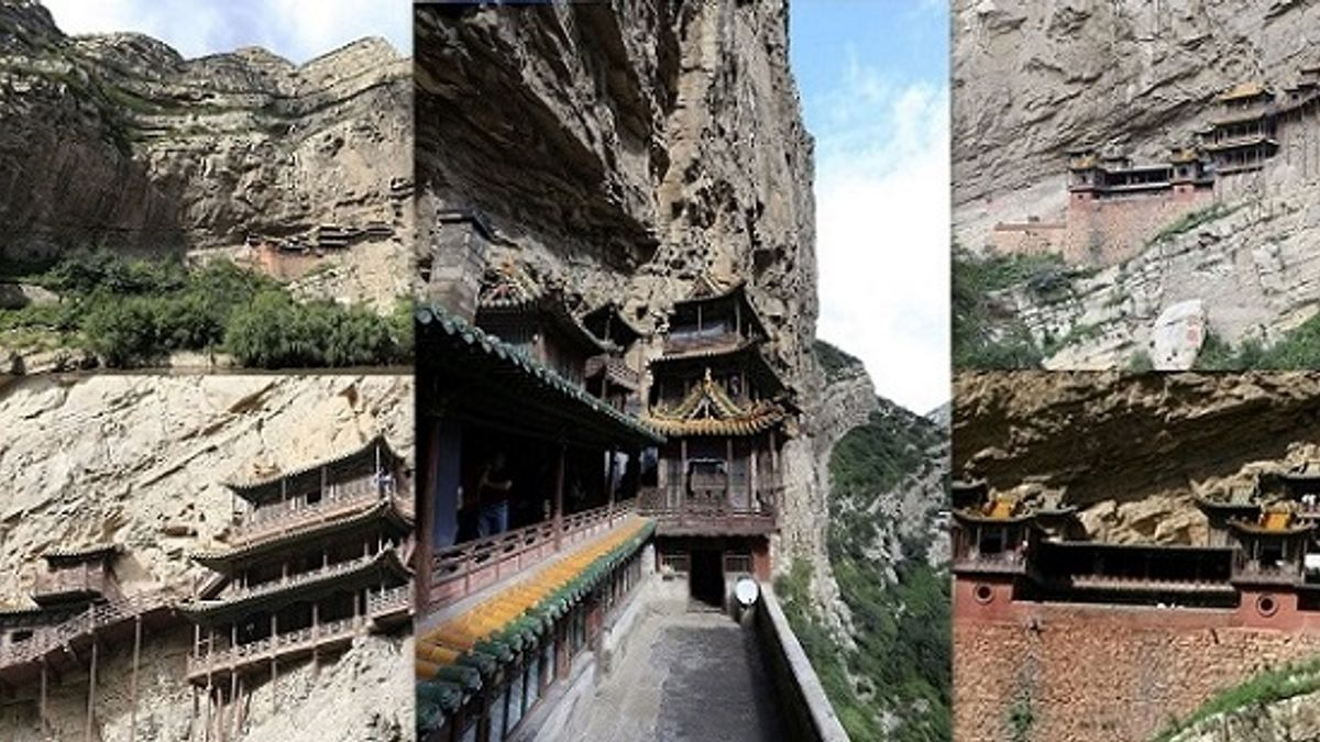 All about World's Only Hanging Monastery