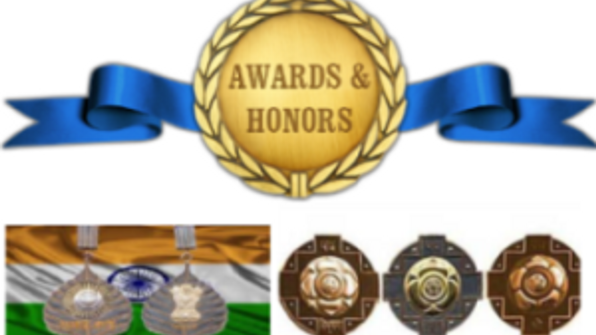 List of Awards and Honours in India