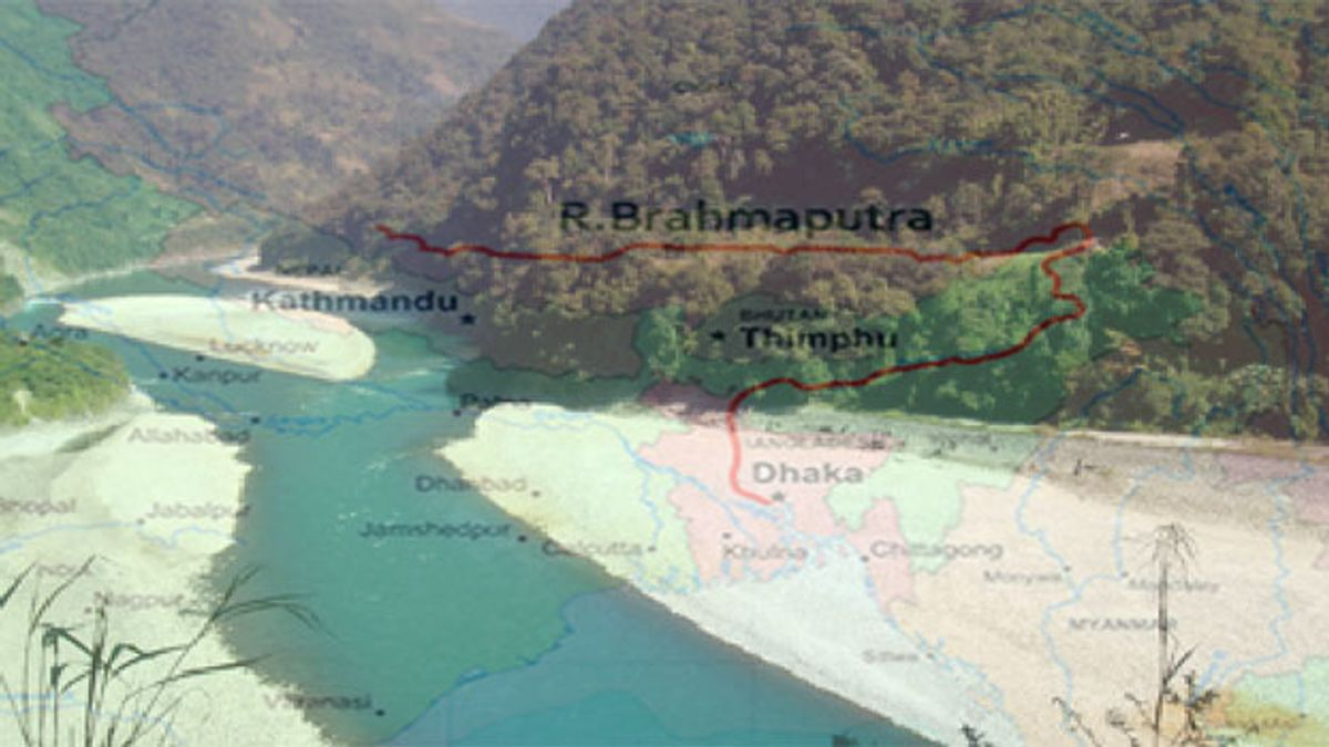 GK Questions and Answers on the Brahmaputra River System