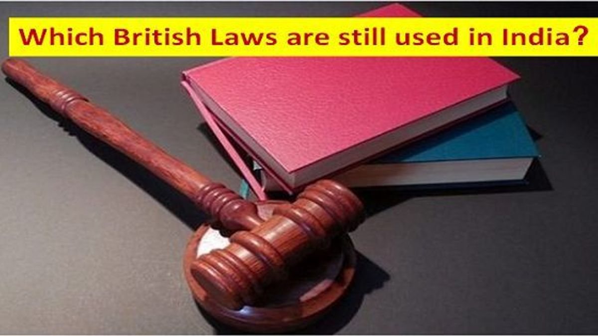 British laws still in-effect in india