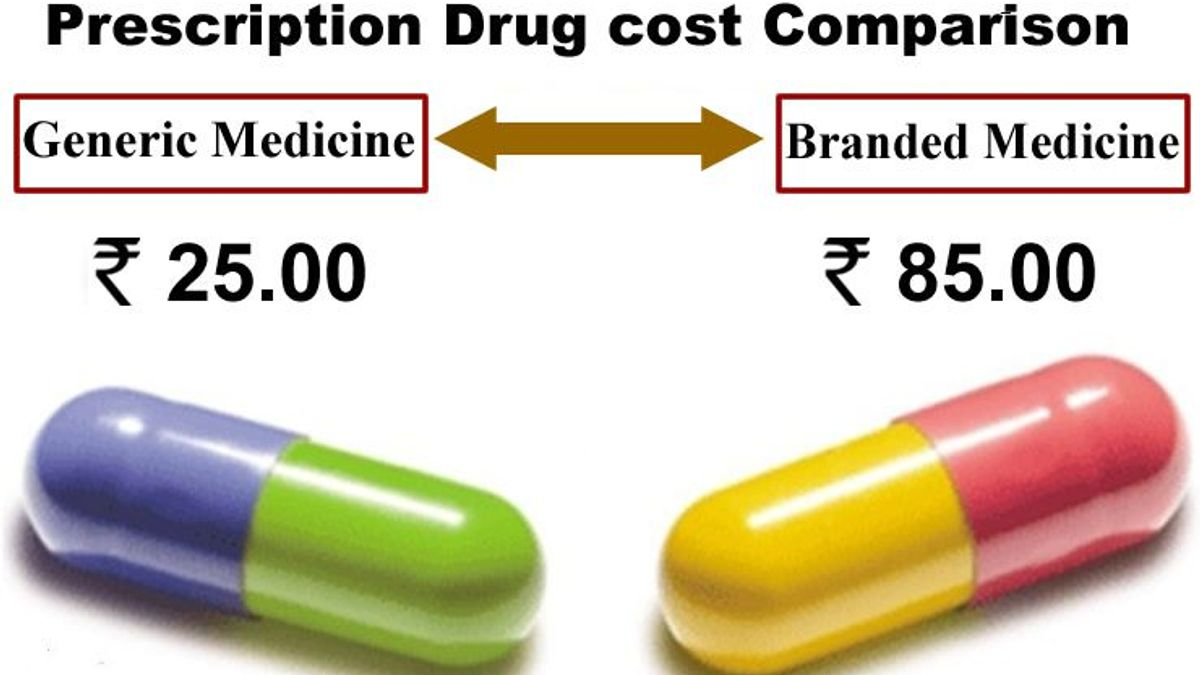 Generic vs branded medicine