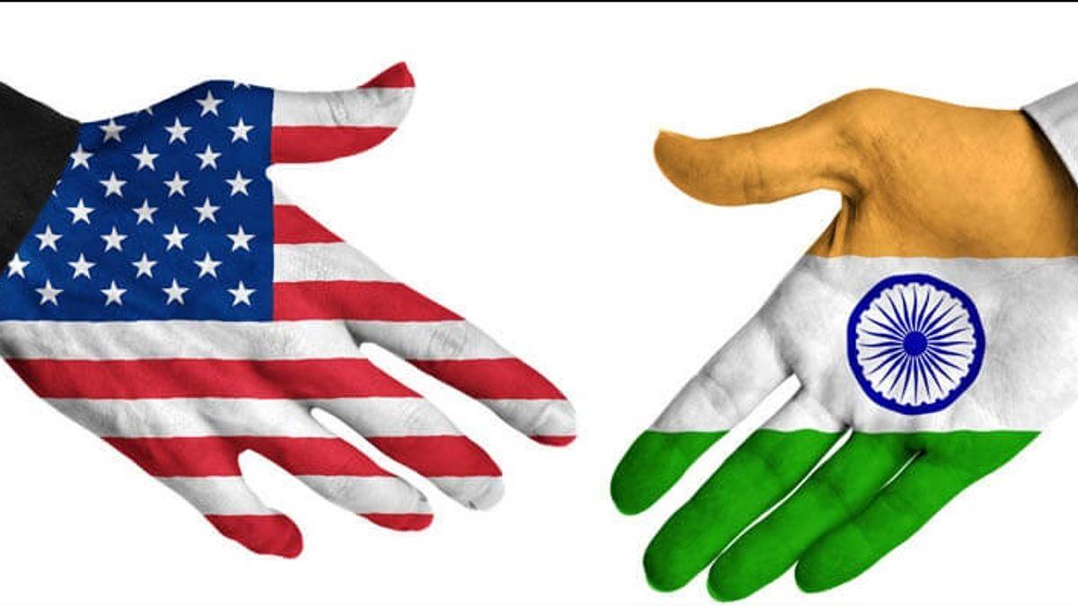 India & USA Flag