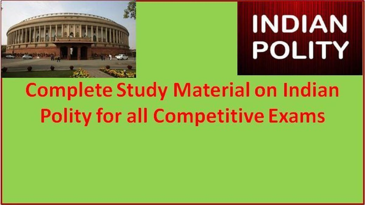 Indian Polity Study Material