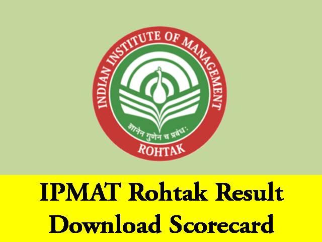 IPMAT 2020 Result